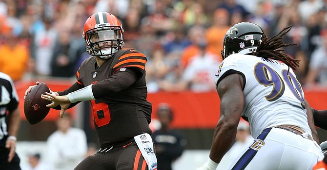 Browns can capture a rare win in Baltimore to get their season back on track