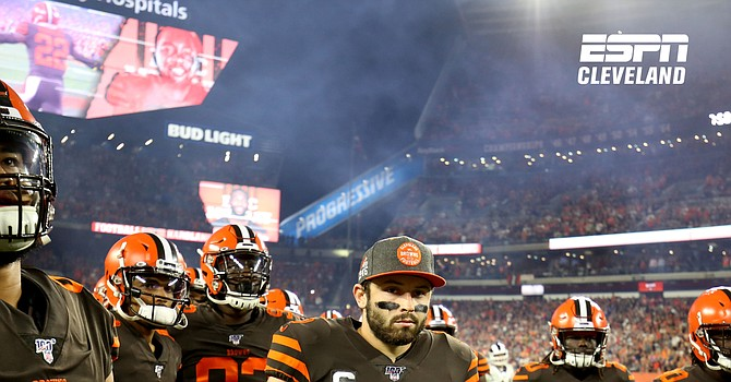 Baker Mayfield leads the Browns into Levi's Stadium for MNF