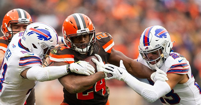 Browns find a way to win with a double-headed monster at RB.