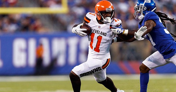 The Browns parted ways with troubled WR Antonio Callaway hours before Thursday's game.