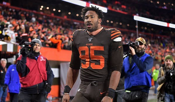 """Myles Garrett's appeal was heard, and the NFL found """"no evidence"""" of some of his claims."""