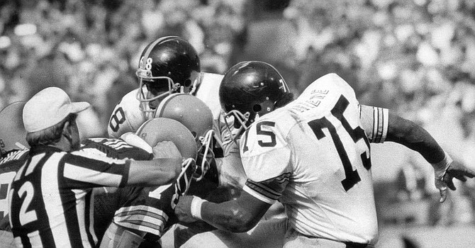 Joe Greene's kick to Bob McKay's groin essentially ended McKay's career with the Browns.
