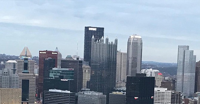 The spectacular Pittsburgh skyline is best viewed from Mount Washington. (TLOD)
