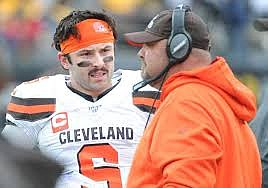 Baker Mayfield and Freddie Kitchens sometimes are on different pages, it seems. (MSN.com)
