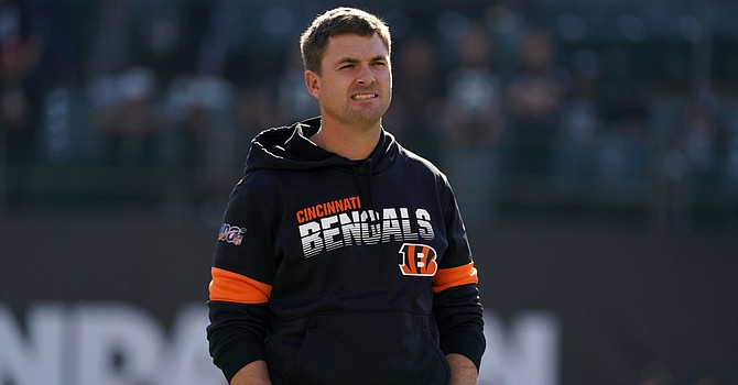 First-year Bengals coach Zac Taylor notched his first win against the Jets. (USAToday.com)