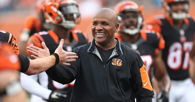 Hue Jackson's defection to Cincinnati spiced up the Battle of Ohio in 2018. (Bengals.com)