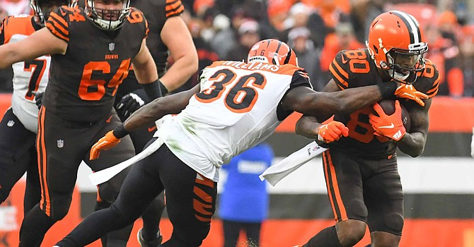 A full offensive effort led the Browns to victory vs. division rival Cincinnati. (Sharpfootballanalysis.com)