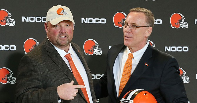 John Dorsey wasn't a fan of Jimmy Haslam's analytics department. (CleSportsTalk.com)