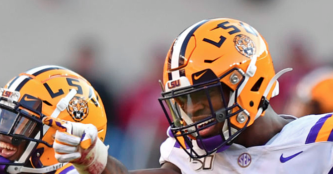 Edge rusher K'Lavon Chaisson may be another LSU defender for the Browns to consider in the first round of the draft. (theadvocate.com)