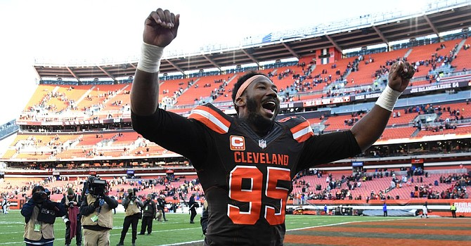 Myles Garrett's new contract reportedly makes him the highest-paid non-quarterback in the NFL. (ESPN.com)