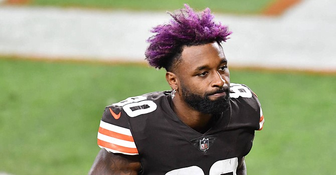 Jarvis Landry says his touchdown drought of eight games 'hurts my heart.' (Yardbarker.com)