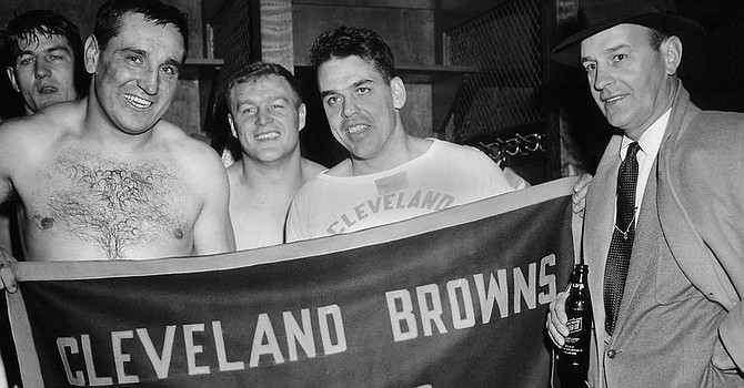 Among the least-known of the accomplishments of Paul Brown and Otto Graham was winning a game without recording a single pass in 1950 -- the last NFL team to do so.