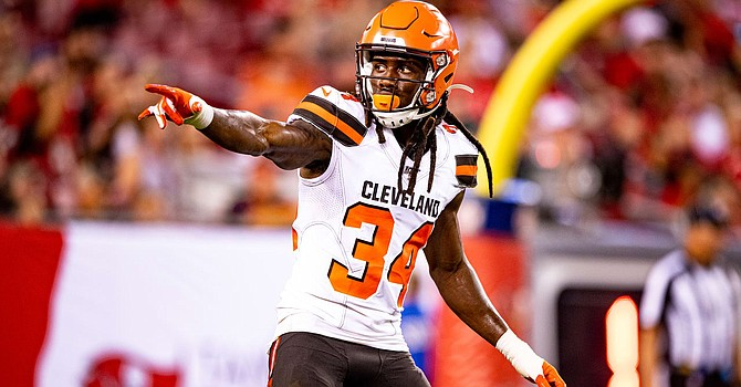 Reserve cornerback Robert Jackson had an adventurous afternoon against the Steelers' gifted receivers. The Browns have to decide how to improve their secondary with Ben Roethlisberger back in the saddle on Sunday. (Cleveland Browns)