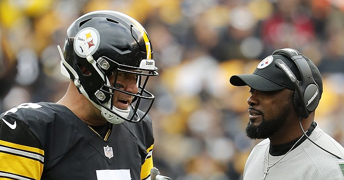 Mike Tomlin and Ben Roethlisberger have never lost to the Browns in Heinz field. (The Boston Globe)