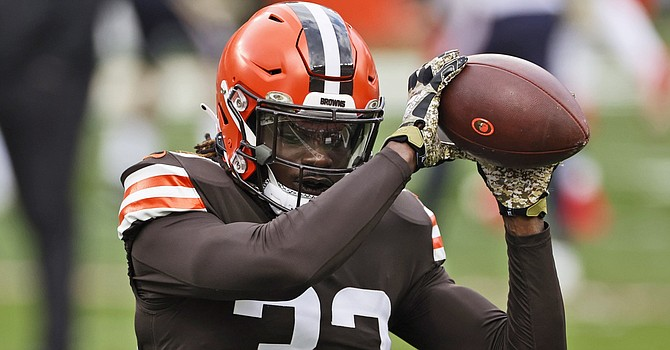 Safety Ronnie Harrison finally got back on the field last week after a four-game shoulder injury, and now he's out of the AFC wild card game after testing positive for Covid-19. (Florida Times Union)