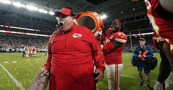 Not only is Andy Reid one of the most lovable coaches in the NFL, he's among the winningest, currently ranking No. 5 all time with 236 career victories. (WIBW.com)
