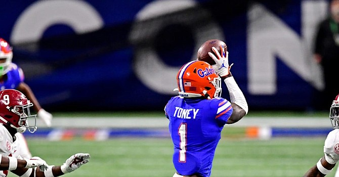 Should the Browns select an offensive player, such as Florida receiver Kadarius Toney, if he is the best player available at No. 26? (SportsIllustated.com)