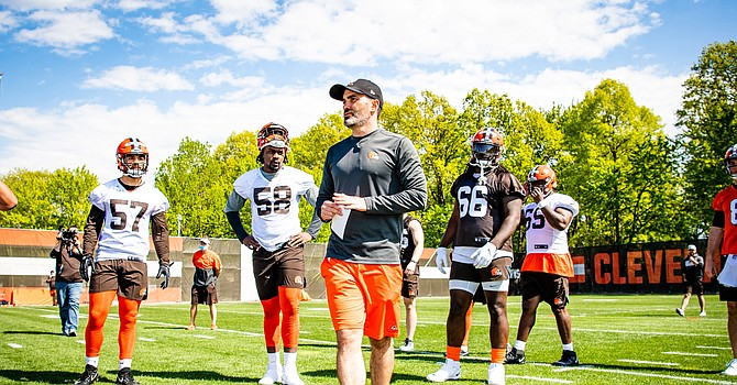 In only one season, Kevin Stefanski has staked a place in the top five of all-time Browns head coaches. (Cleveland Browns)