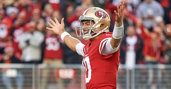 Jimmy G has recovered from last years ACL injury with a 4-0 start to the 2019 season.
